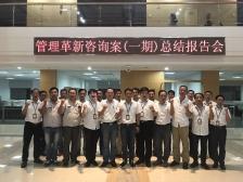 三斯达(江苏)环保科技有限公司一期管理咨询项目总结报告会