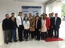 创维液晶干部参观广州马勒公司