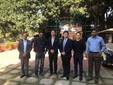 孟加拉达卡 RUNNER 总部访问、合作会谈