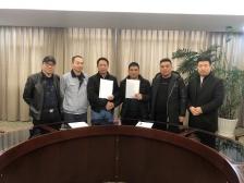 三斯达-江苏华东片区经销商续约合同签订会议