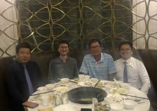协同裕同集团刘副总裁及团队莅临深圳东方家园参观拜访